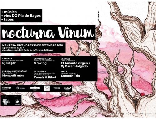 Nocturna Vinum a EL TRASTER MANRESA